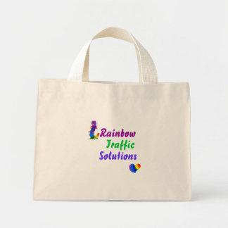 Rainbow Traffic Solutions Mini Tote Bag