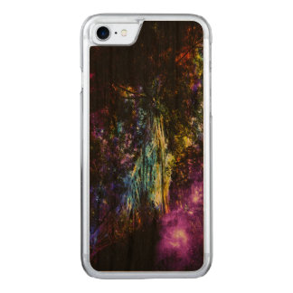 Rainbow Tree Carved iPhone 7 Case