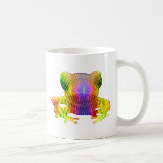 Rainbow Tree Frog Coffee Mug