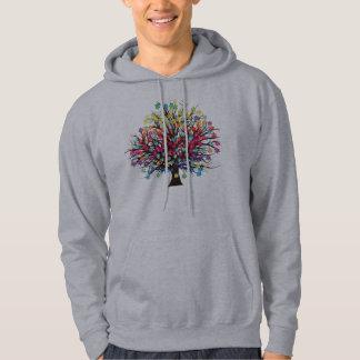 Rainbow Tree Hoodie Ladies