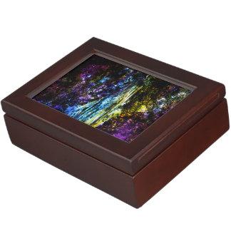 Rainbow Tree Memory Box