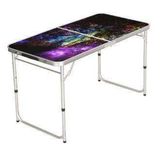 Rainbow Tree Pong Table