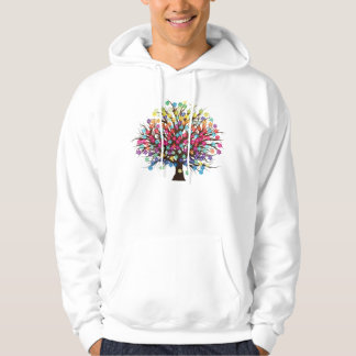 Rainbow Tree Uni-Sex Hoodie