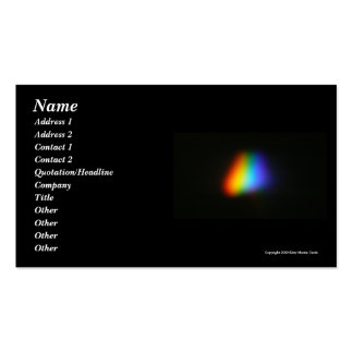 Rainbow Triangle Pack Of Standard Business Cards