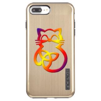 Rainbow Trinity Knot Celtic Cat  iPhone 7  Case