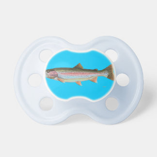 RAINBOW TROUT BABY PACIFIER