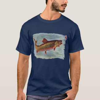 Rainbow Trout Chasing a Fly Lure T-Shirt