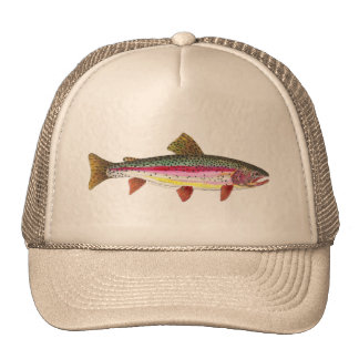 Rainbow Trout Fish Cap