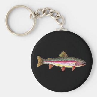 Rainbow Trout Fish Key Ring
