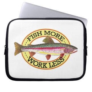 Rainbow Trout Fishing Laptop Sleeve