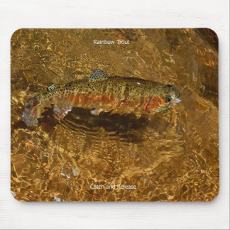 Rainbow Trout Mousepad