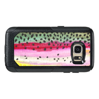 Rainbow Trout Skin Fishing OtterBox Samsung Galaxy S7 Case