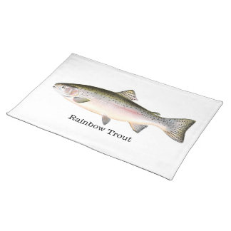 Rainbow Trout Trout Fish Placemat