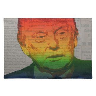 Rainbow Trump Placemat