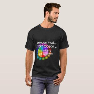 Rainbow Tshirt PRIDE LGBT Diversity Human Rights