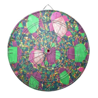 Rainbow Turtles on The Rocks Dartboard