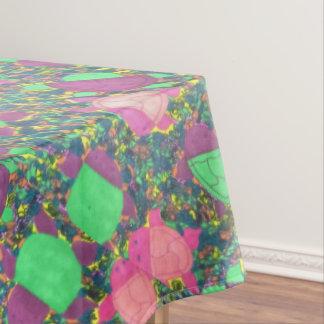 Rainbow Turtles on The Rocks Tablecloth