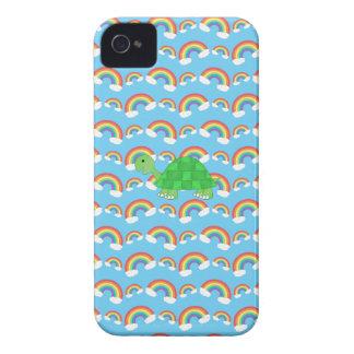Rainbow turtles phone case iPhone 4 cover