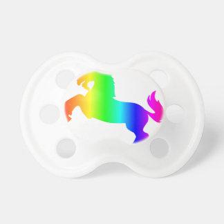 Rainbow Unicorn Baby Pacifiers
