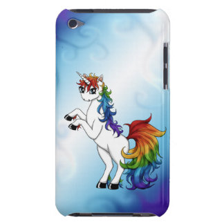 Rainbow Unicorn Barely There iPod Cover