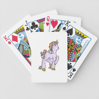 Rainbow Unicorn! Bicycle Playing Cards
