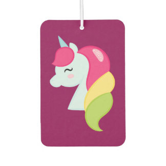 Rainbow Unicorn Car Air Freshener