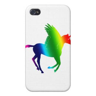 Rainbow Unicorn Case For iPhone 4