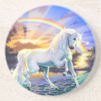 Rainbow Unicorn Coaster