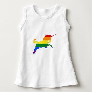Rainbow Unicorn Dress
