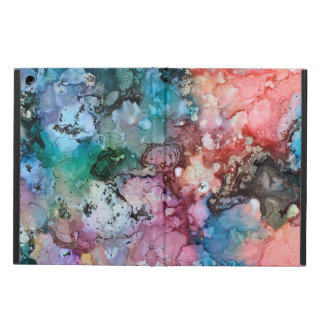 Rainbow Unicorn galaxy iPad Air flip cover