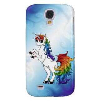 Rainbow Unicorn Galaxy S4 Covers