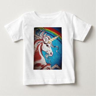 Rainbow Unicorn Graffiti Baby T-Shirt