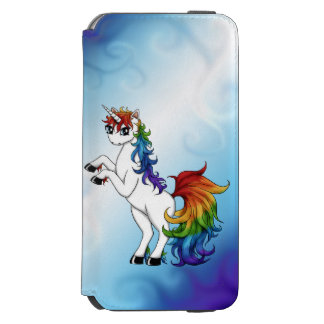 Rainbow Unicorn Incipio Watson™ iPhone 6 Wallet Case