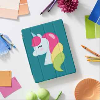 Rainbow Unicorn iPad Cover