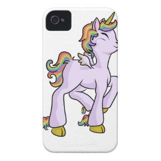 Rainbow Unicorn! iPhone 4 Case-Mate Case