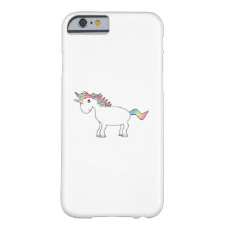 Rainbow unicorn iPhone 6 case Barely There iPhone 6 Case