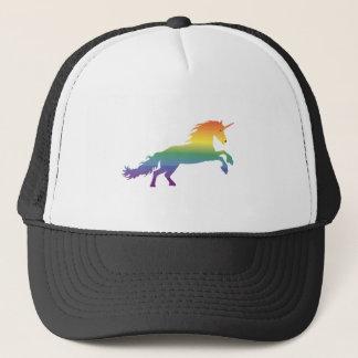 Rainbow Unicorn lgbt Trucker Hat