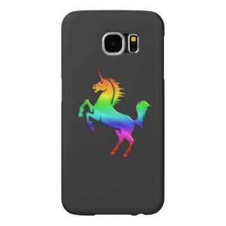 Rainbow Unicorn Samsung Galaxy S6 Cases