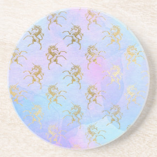 Rainbow Unicorns Coaster