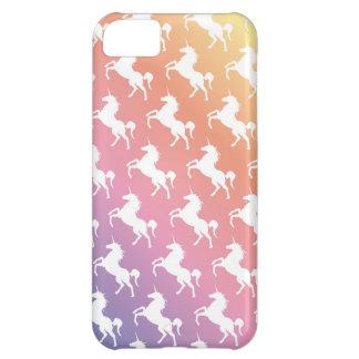 Rainbow Unicorns II Cover For iPhone 5C