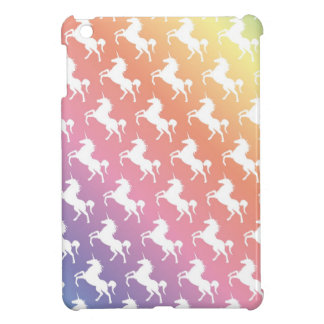 Rainbow Unicorns II iPad Mini Cover