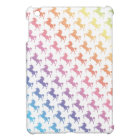 Rainbow Unicorns iPad Mini Cover