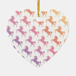 Rainbow Unicorns.pdf Ornaments