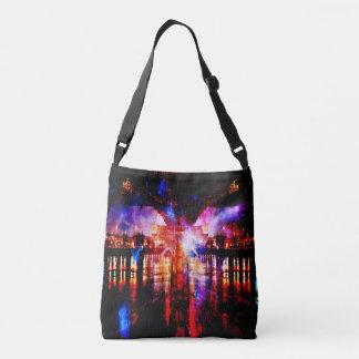 Rainbow Universe Bridge Crossbody Bag