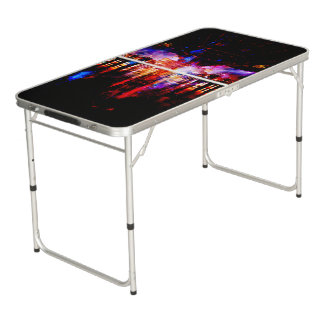 Rainbow Universe Bridgw Beer Pong Table