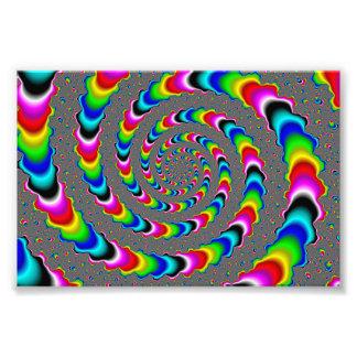 Rainbow Universe - Fractal Art Photo
