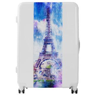Rainbow Universe Paris Luggage
