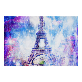 Rainbow Universe Paris Poster