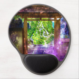 Rainbow Universe's Pathway to Paradise Gel Mouse Pad