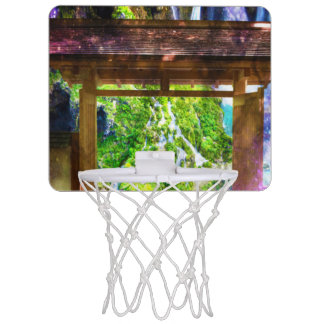 Rainbow Universe's Pathway to Paradise Mini Basketball Hoop